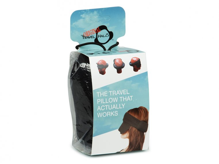 Compact Travel Pillow & Mask by The Travel Halo - 5