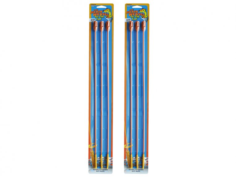 Refill Wands 3-Pack - Set of 2 by Drain Weasel - 6