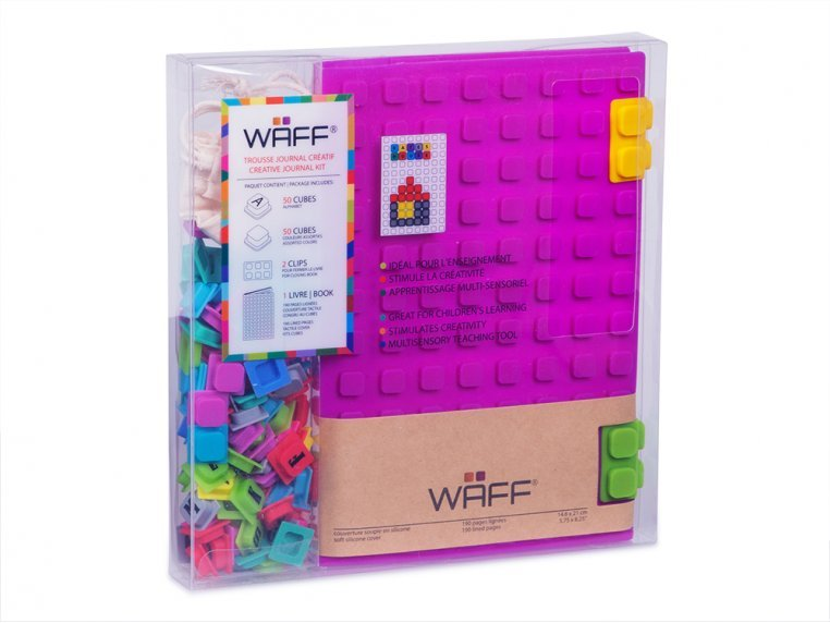 Silicone Notebook & Cubes Set by WAFF - 2