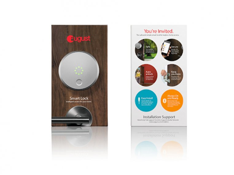 Smart Lock - Silver by August - 5
