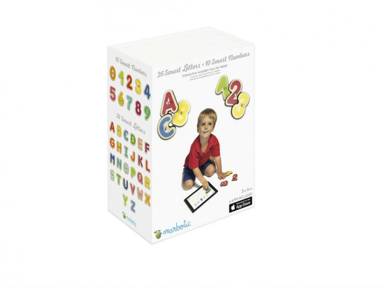 Smart Numbers + Letters Learning Toy by Marbotic - 9