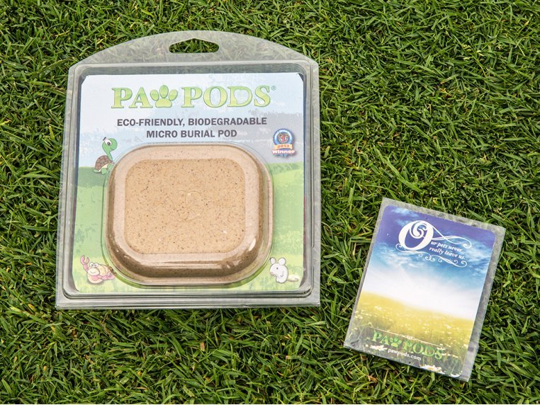 Smaller Pet Burial Pods by Paw Pods - 3