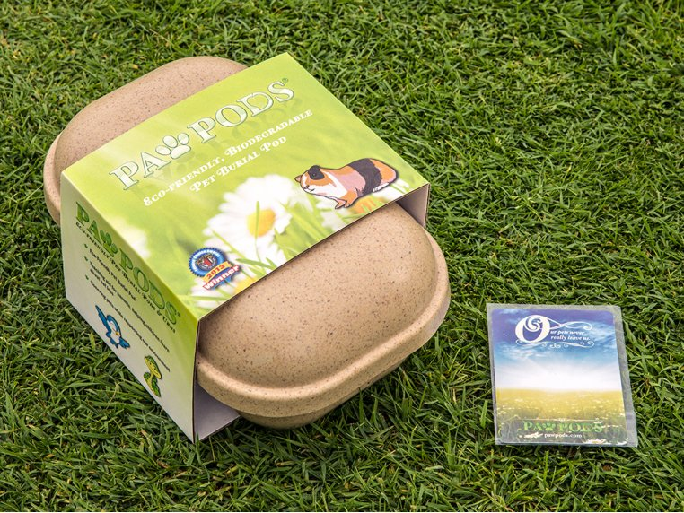 Smaller Pet Burial Pods: Mini by Paw Pods - 2
