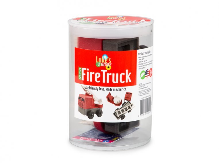 EcoTruck Fire Truck by Luke's Toy Factory - 6