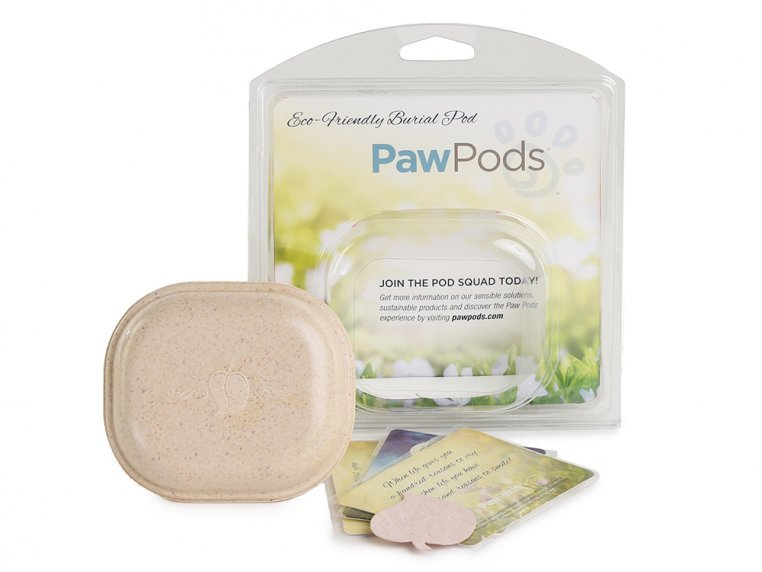 Smaller Pet Burial Pods by Paw Pods - 6