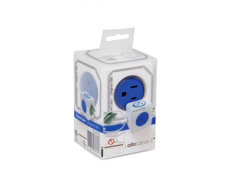 Dual USB Outlet Adapter by PowerCube - 5