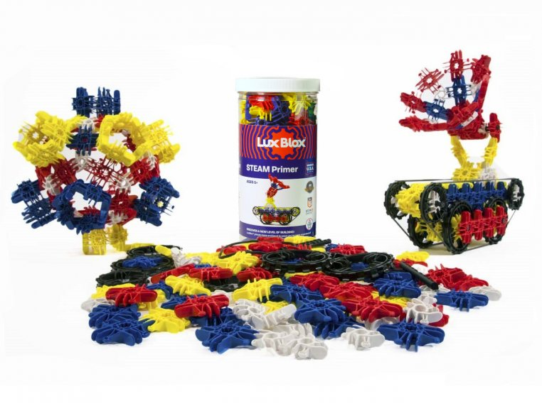 Creative Building Blocks Toy Set by Lux Blox - 6
