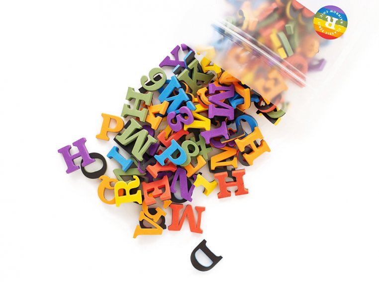 Modern Magnetic Letters by The Type Set Co. - 19