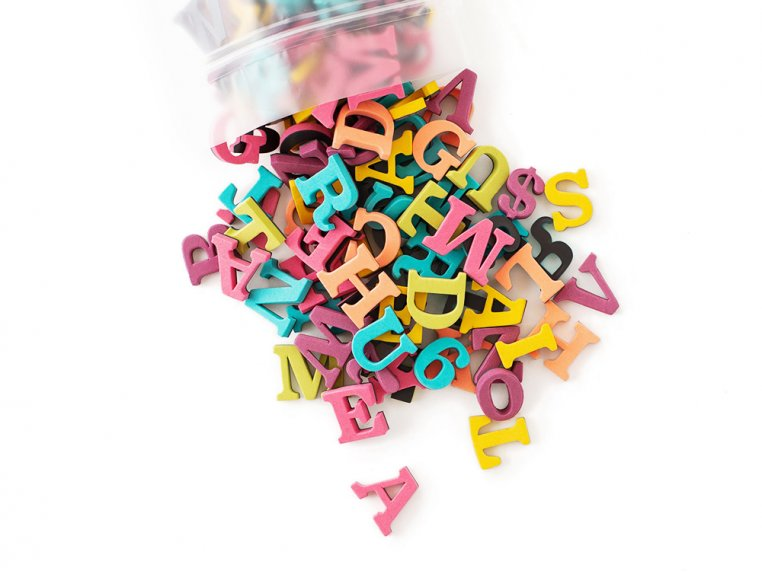 Modern Magnetic Letters by The Type Set Co. - 20