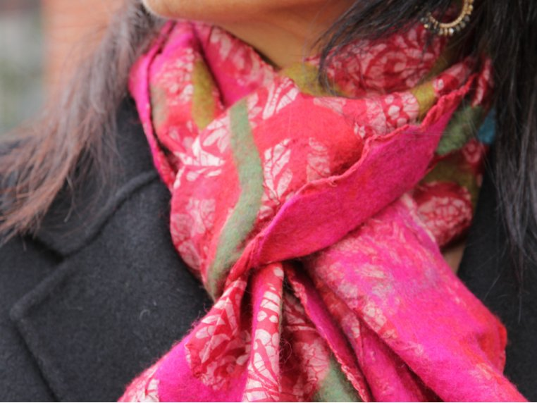 Circle Scarf by The Red Sari - 4