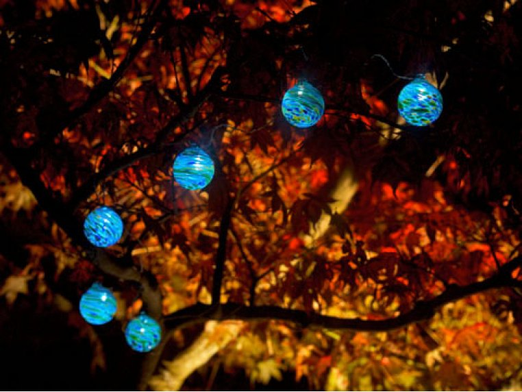 Aurora Solar Glass String Lights by Allsop Solar Lighting - 1