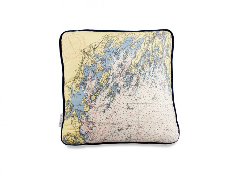 Custom Nautical Pillow by Not for Navigation - 5