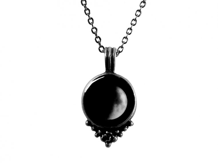 Choose Your Moon Phase Necklace - Classic Design by Moonglow - 7
