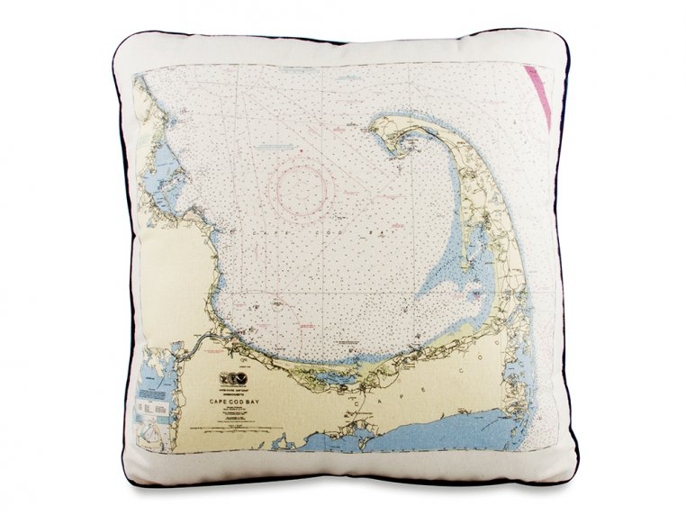 Custom Nautical Pillow by Not for Navigation - 7