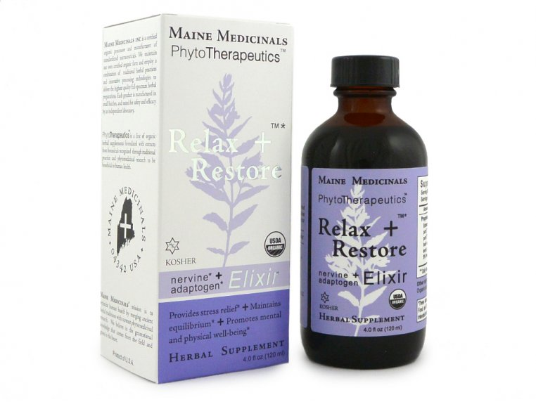 Relax + Restore: Stress Relief by Maine Medicinals - 4