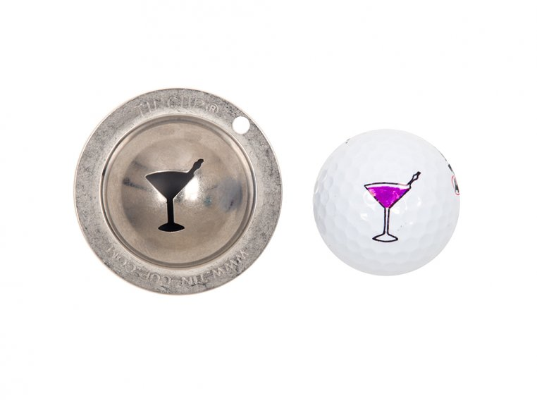 Stainless Steel Golf Ball Marker by Tin Cup - 12
