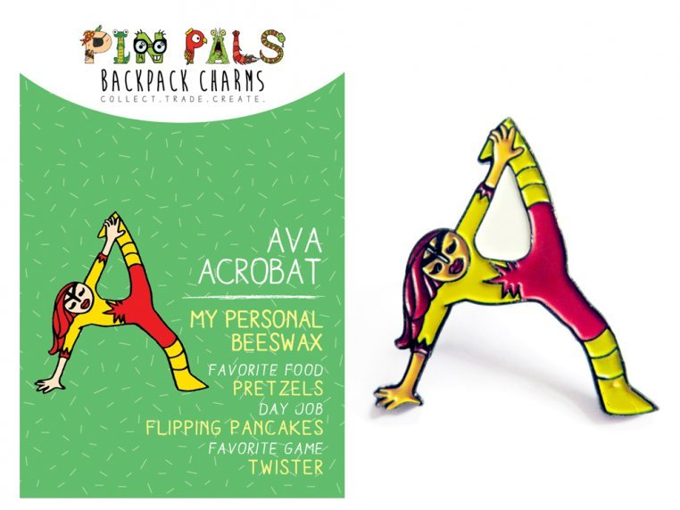 Alphabet Pins by Pin Pals - 2