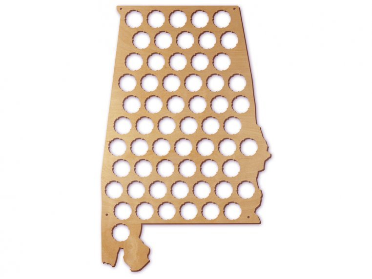 Choose Your State Beer Cap Trap by Torched Products - 9