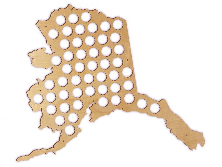 Choose Your State Beer Cap Trap by Torched Products - 8