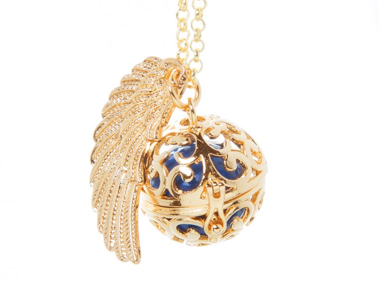 Angel Wing Locket by Yourself Expression - 7