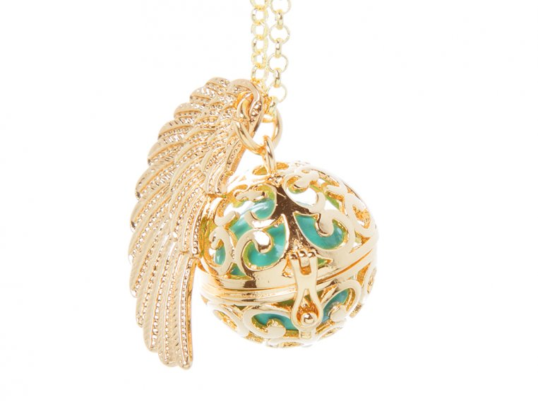 Angel Wing Locket by Yourself Expression - 8