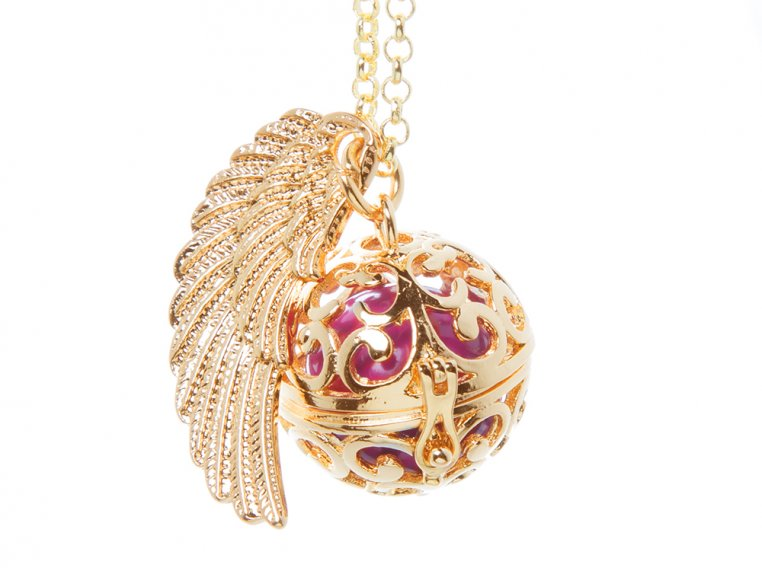 Angel Wing Locket by Yourself Expression - 5