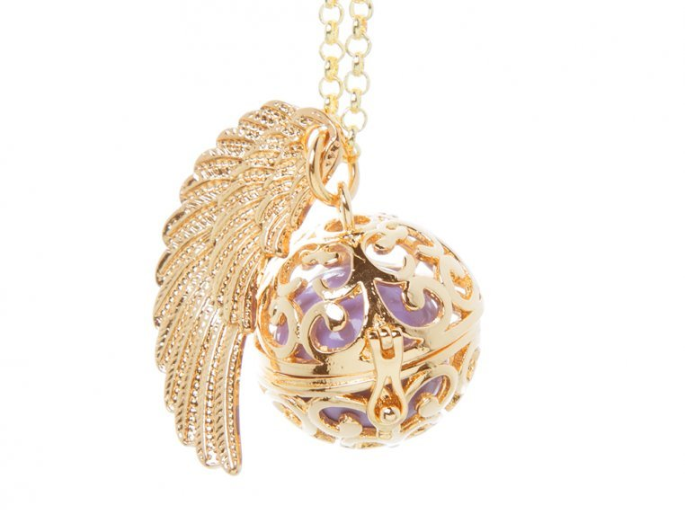 Angel Wing Locket by Yourself Expression - 9