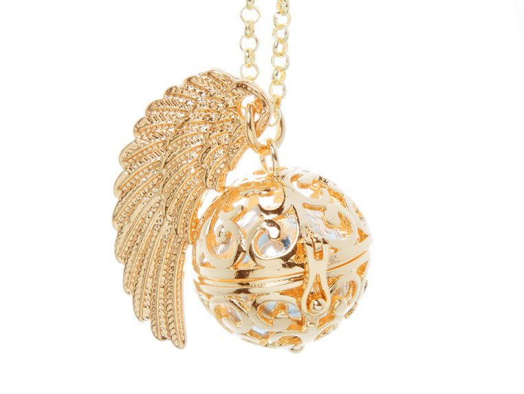 Angel Wing Locket by Yourself Expression - 4