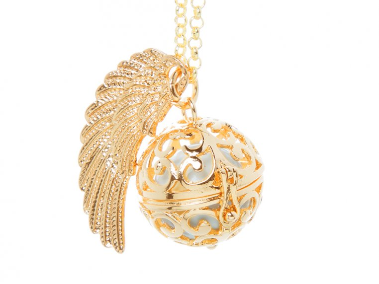 Angel Wing Locket by Yourself Expression - 6