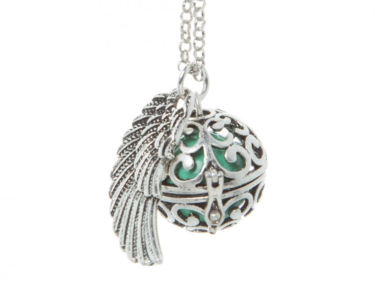 Angel Wing Locket by Yourself Expression - 14