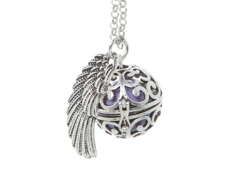 Angel Wing Locket by Yourself Expression - 15