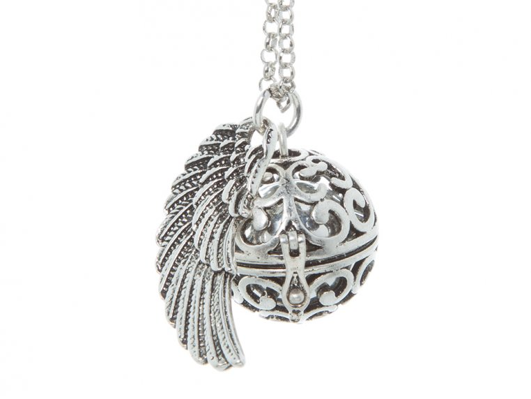 Angel Wing Locket by Yourself Expression - 10
