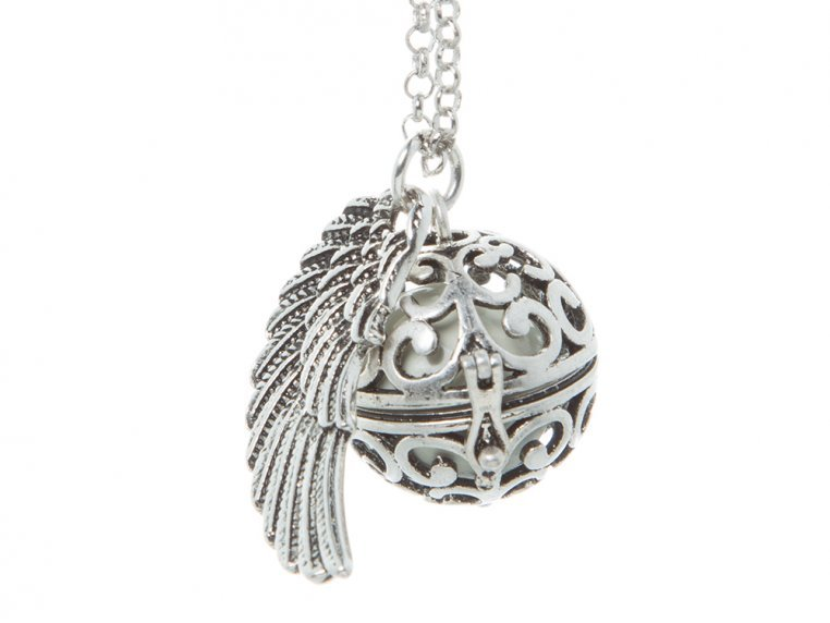 Angel Wing Locket by Yourself Expression - 12