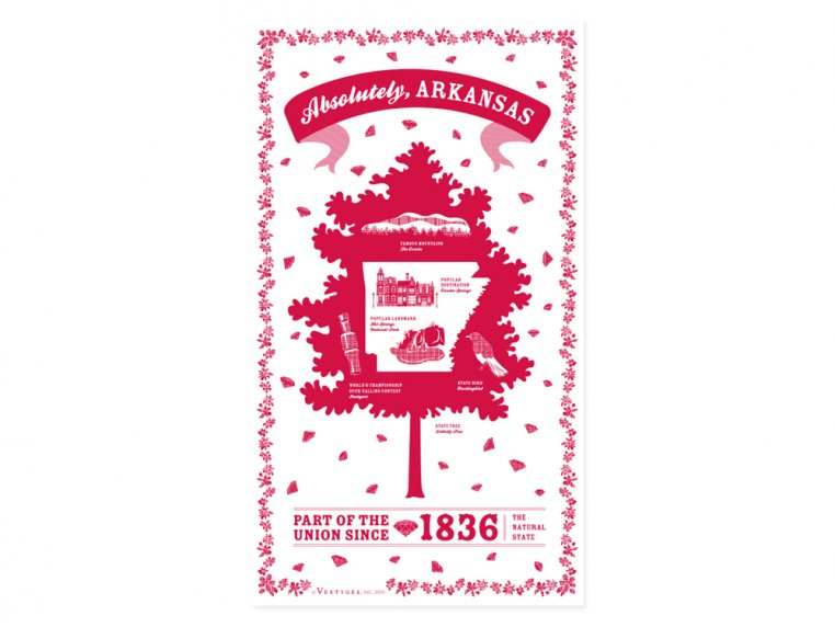 State Tea Towels by Vestiges - 5