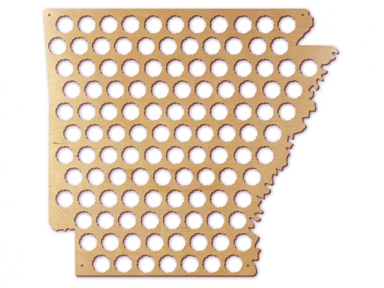Choose Your State Beer Cap Trap by Torched Products - 10