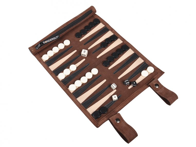 Roll-Up Travel Backgammon by Sondergut - 5