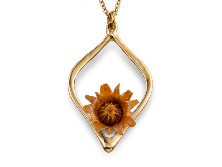 Reblooming Flower Necklace by The Blessing Flower - 7