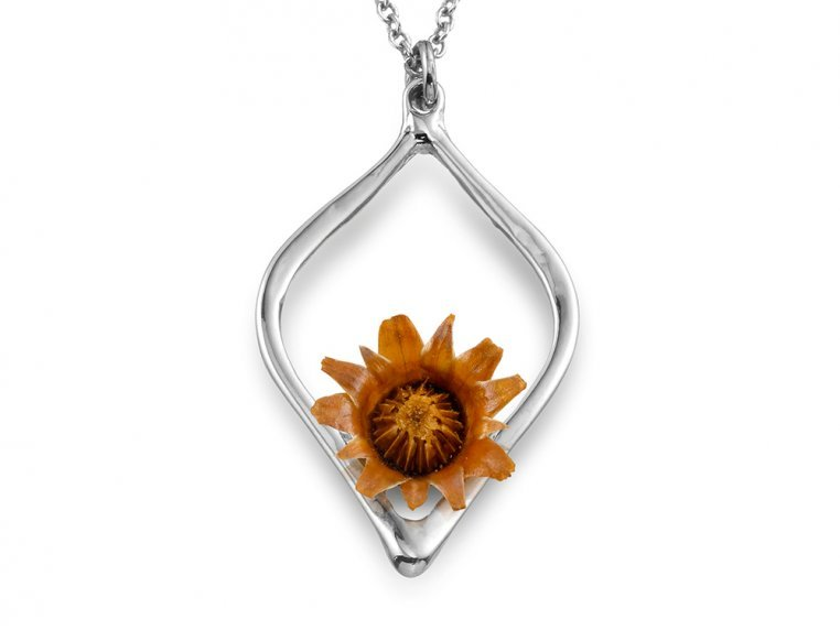 Reblooming Flower Necklace by The Blessing Flower - 8