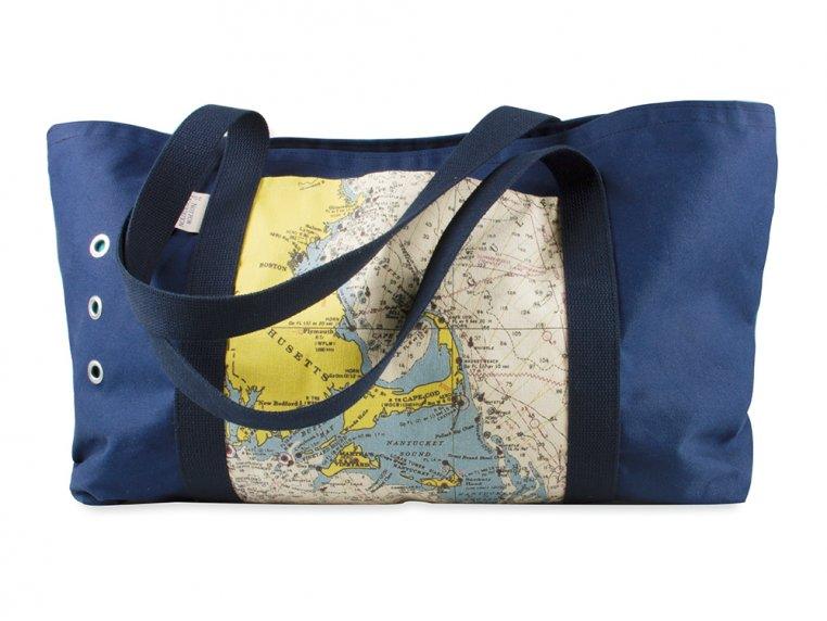 Custom Oversized Beach Tote by Not for Navigation - 5