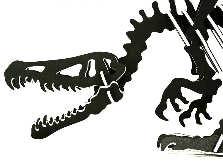 Oversized 3D Dinosaur Puzzle by Boneyard Pets - 12