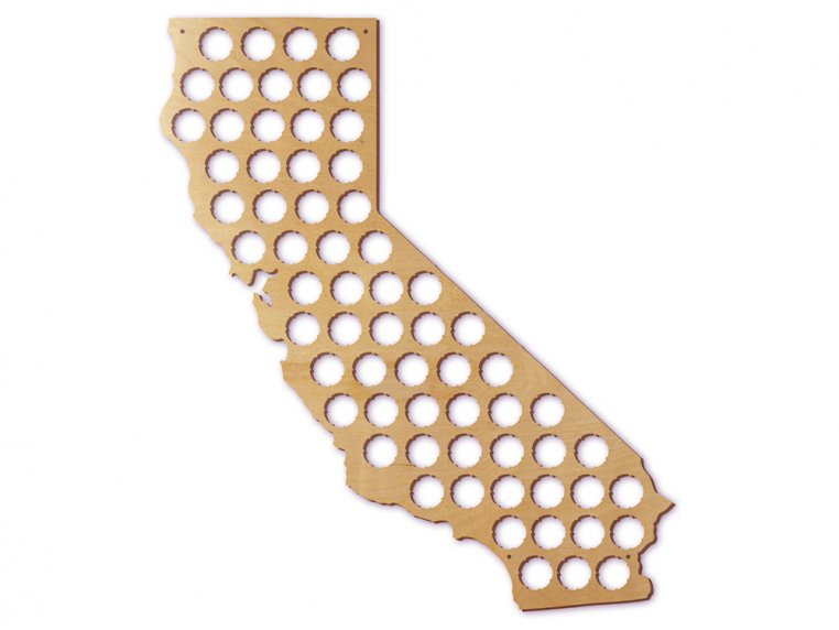 Choose Your State Beer Cap Trap by Torched Products - 12