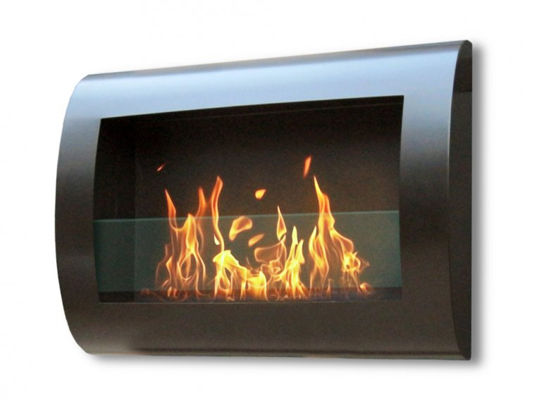 Chelsea Wall Mount Indoor Fireplace by Anywhere Fireplace - 5