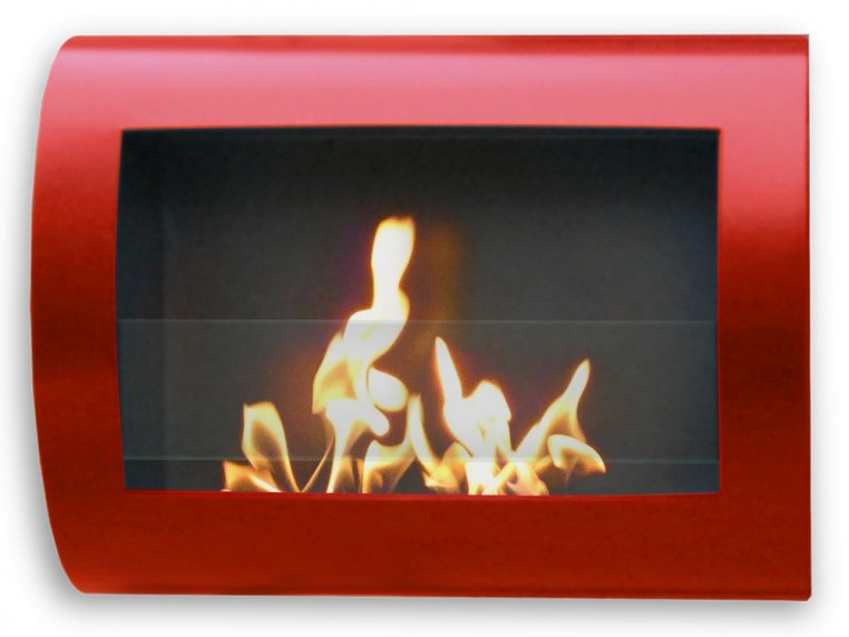 Chelsea Wall Mount Indoor Fireplace by Anywhere Fireplace - 4