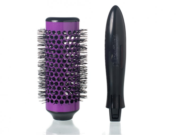 Detachable Round Brush Set by Click n Curl - 3
