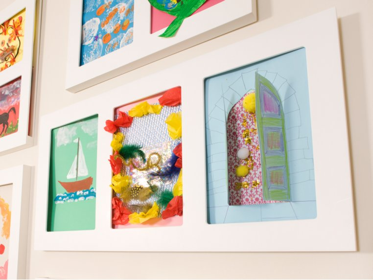 """9"""" x 12"""" Triple Gallery by Articulate Gallery - 4"""