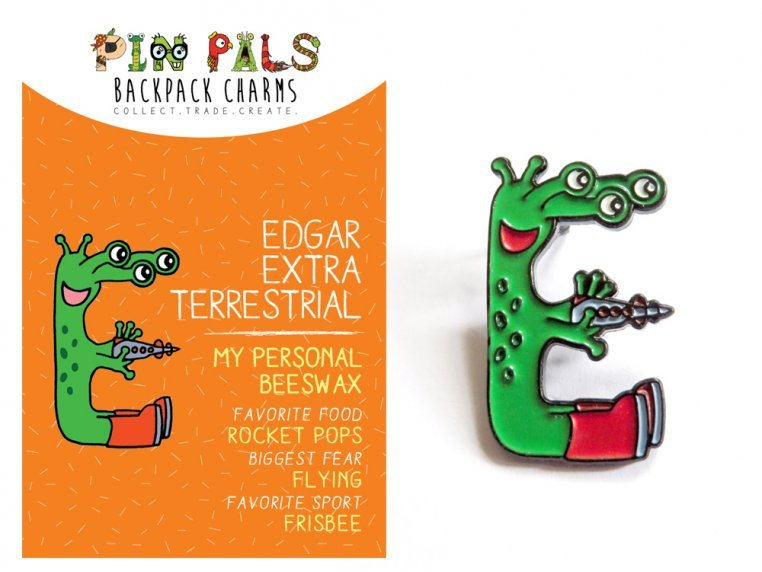 Alphabet Pins by Pin Pals - 9
