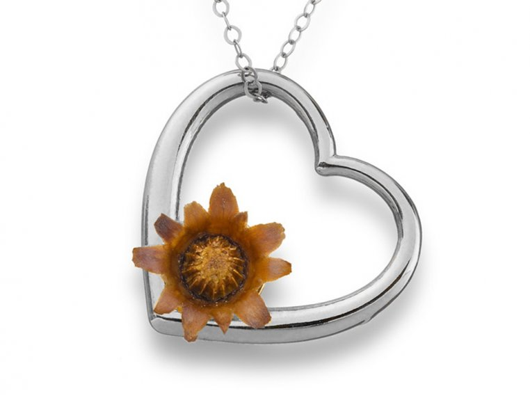 Eternal Love Necklace - Silver by The Blessing Flower - 1