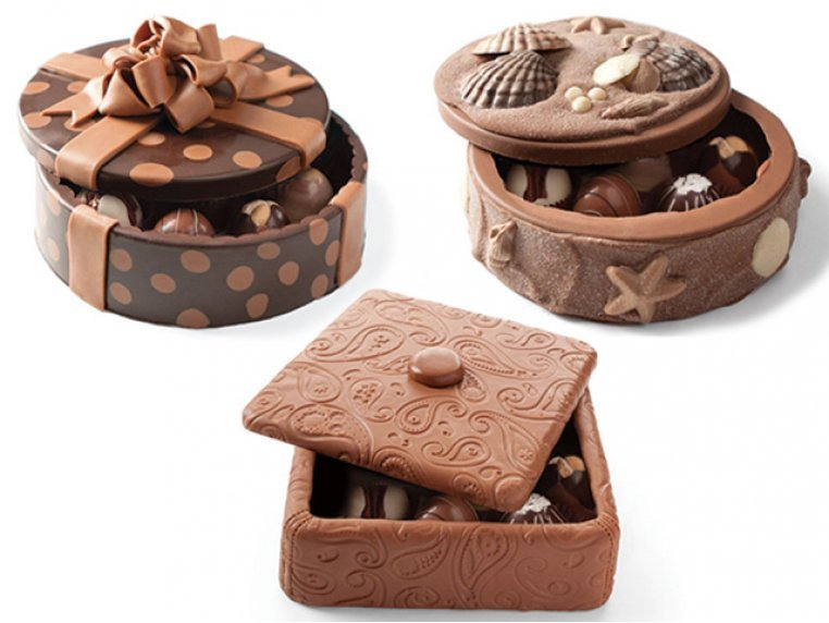 Chocolate Art Box (Truffle-Filled) by DeBrand Chocolates - 4