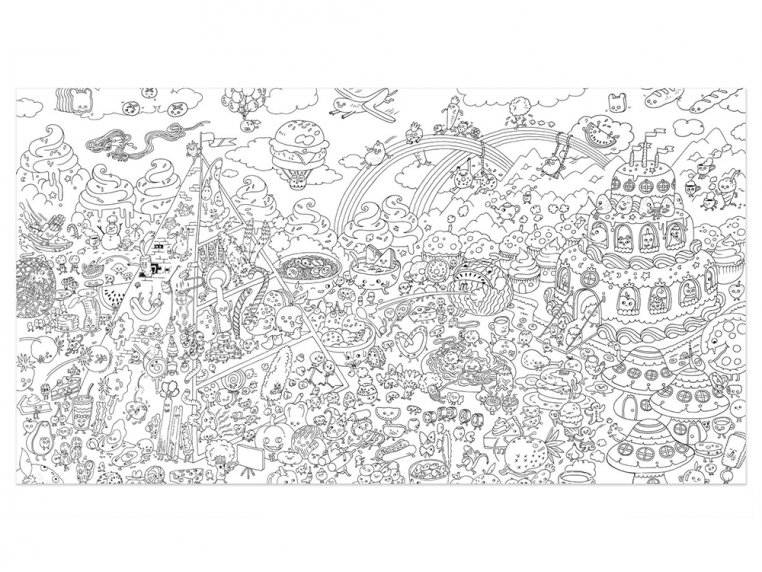 Really Big Coloring Poster by Pirasta - 11