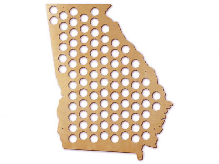Choose Your State Beer Cap Trap by Torched Products - 17
